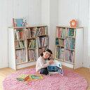 ベルメゾン 1cmピッチ絵本本棚 「ホワイト」◆A/60×90(幅×高さ(cm))◆◇ 子供 子供用 家具 収納 キッズ収納 おもちゃ 絵本収納 棚 ラック 整理 こどもツボミファニチャー ◇