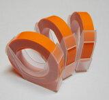 マシューズテープ RM900KOR 蛍光オレンジ 9mm×3m レーチェル&マシュー ダイモ/DYMOにも使えます