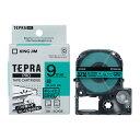 楽天べるえぽキングジム テプラPROテープカートリッジ(SC9GE)キレイにはがせるラベル 緑ラベル黒文字 9mm幅 KING JIM TEPRA 「テプラ」PROテープカートリッジ
