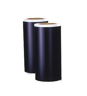 ビーポップシート200mm幅 黒 2巻入 SL-S2001クロ/SL-S201N2クロ 1箱(10m×2ロール)IL90667/IL90759 屋内外シート(屋外使用1年程度・屋内使用2年程度)カッティング&プリント用 ピーポップシート200タイプ TAPE ROLL マックス(MAX)