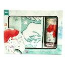 ショッピングハンドクリーム ディズニー ハンドクリーム & ハンカチセット ブルー(アリエル) / おしゃれ かわいい ブランド プレゼント ホワイトデー