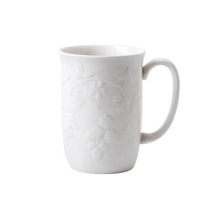 ウェッジウッド ワイルドストロベリー ホワイト マグカップ