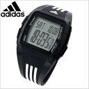 adidas アディダス パフォーマンス デジタル腕時計 デュラモ MID DURAMO MID ブラック x ホワイト メンズ/レディース ユニセックス adidas(アディダス)ADP6093