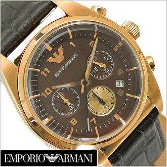 (Brown dial and leather belts) the chronograph men's watch AR0371