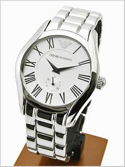 Emporio Armani watches EMPORIO ARMANI men's (small second/silver letters Edition) AR0647