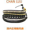 ショッピングチャンルー チャンルー CHAN LUU ストーンビーズミックス 5連ラップブレスレット レディース チャンルー CHANLUU BG-5630-MATTE ONYX MIX