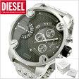 ディーゼル DIESEL クロノグラフ腕時計 デュアルタイム機能 リトルダディー LITTLE DADDY メンズ DZ7259 【送料無料】