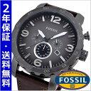フォッシル FOSSIL 腕時計 メンズ ネイト NATE クロノグラフ・ガンメタリック文字盤 フォッシル FOSSIL JR1424【送料無料】