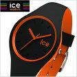 【クリーナープレゼント】【アイスウォッチ】ICE WATCH 腕時計 ICE DUO アイスデュオ ブラックオレンジ スモール/レディース アイスウォッチ ICE WATCH DUO.BKO.S.S【送料無料】