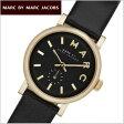 マークバイマークジェイコブス MARC BY MARC JACOBS 腕時計 Baker ベイカー スモールサイズ ブラック×ゴールド レディース マークジェイコブス MBM1273【送料無料】