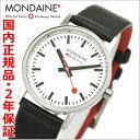 【モンディーン】 MONDAINE スイス国鉄オフィシャル鉄道ウォッチ ニュークラシック レディース/ホワイト モンディーンA658.30323.11SBB