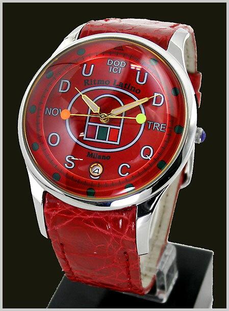 【リトモラティーノ】Ritmo Latino 腕時計 FINO(フィーノ)DODICI(ドディッチ) ラージサイズ/メンズ ワニ革 F-85DL【送料無料】 【リトモラティーノ 国内正規品】【佳作】