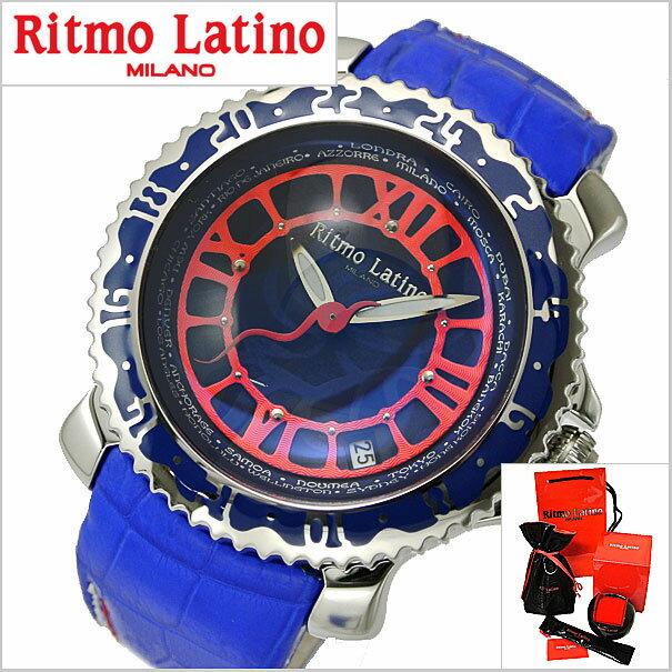 リトモラティーノ Ritmo Latino 腕時計 Viaggio(ビアッジョ)機械式(自動巻き)ブルー文字盤/裏スケルトン  VA-54SS【送料無料】Ritmo Latino(リトモラティーノ) 【リトモラティーノ 国内正規品】旨い