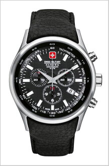 It is the 20%OFF ML -279 Swiss military an SWISS MILITARY (the Swiss military) chronograph watch Navarro's black clockface (male business) (regular article)