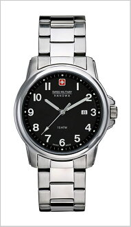 ( swismiglitary ) SWISS MILITARY watch classic black dial (men) genuine, 20% off ML-281
