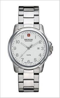 ( swismiglitary ) SWISS MILITARY watch classic White Dial (for men) genuine, 20% off ML-282
