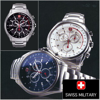( swismiglitary ) SWISS MILITARY Chronograph Watch, Swiss military RACING (racing) (for men) 20% off