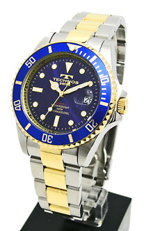 TECHNOS 10 atmospheric pressure diving watches (men) TAM629TN