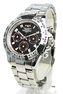 TECHNOS (テクノス) chronograph watch (men's) TBM634SB