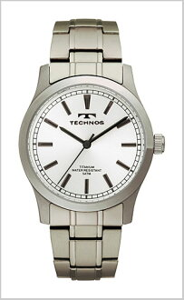 TECHNOS ( technos ) titanium watch (for men and silver character Edition) T1079IS