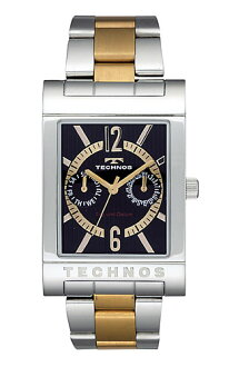 (regular article) T2046GB for TECHNOS (テクノス) multi-function watch, lindera board, gold index / men