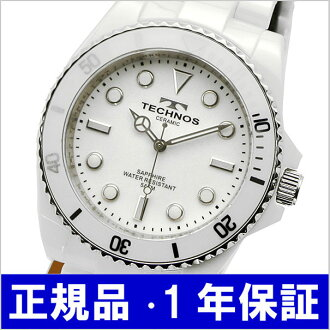 Technos TECHNOS watches mens ceramic / white T4-W