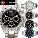 【テクノス】 TECHNOS 腕時計 メンズ クロノグラフ ...