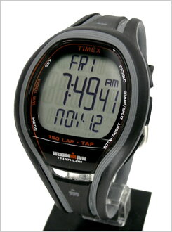 ( Timex ) TIMEX Ironman sleek 150 lap with tap screen technology-black genuine, T5K253/TIMEX ( Timex )