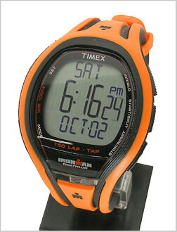 ( Timex ) TIMEX Ironman sleek 150 lap with tap screen technology-Orange genuine, T5K254/TIMEX ( Timex )
