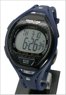 50 TIMEX (Timex) watch iron man news leak lap men / navy (regular article) T5K337/TIMEX (Timex)