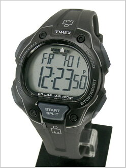 Watch iron man 50 ラップフルサイズ ( men's sizes ) black genuine, T5K495/TIMEX ( Timex )