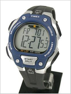 Watch iron man 50 ラップフルサイズ ( men's sizes ) blue / black genuine, T5K496/TIMEX ( Timex )