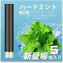 ARASHI FLEVO互換 電子タバコ カートリッジ スーパーハードミント味 大容量 1.0ml 約300口/個 10個入 [510 Lite/ブラック]
