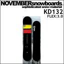 17-18 NOVEMBER ノベンバー スノーボード KD ケーディー 132cm キッズ
