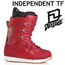 16-17 DEELUXE ディーラックス ブーツ INDEPENDENT TF インディペンデント サーモインナー