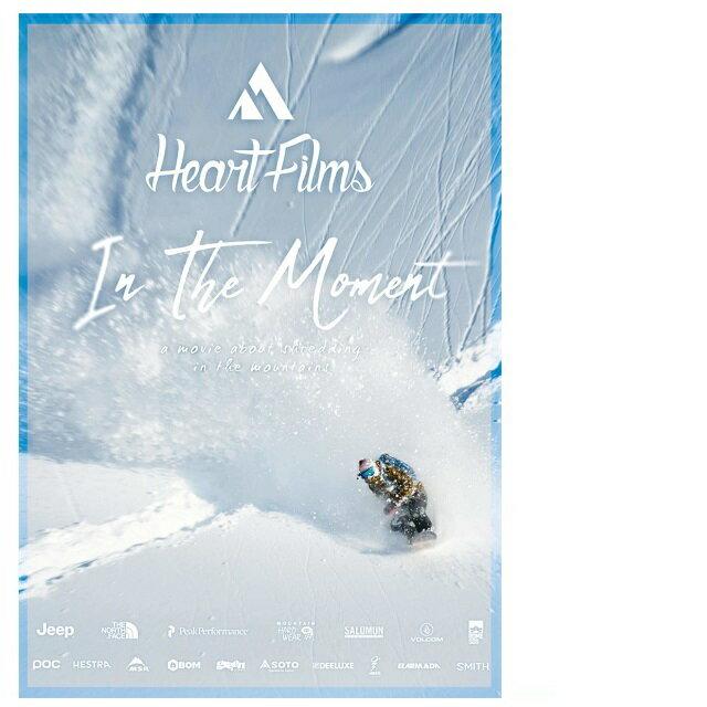 HEARTFILMSハートフィルム「InTheMoment」新作スノーボードDVD2018