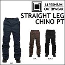 17-18 L1 エルワン ウエア STRAIGHT LEG CHINO PANTS ストレート レッグ チノ パンツ align=