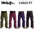 15-16 MOUNTAIN ROCK STAR(マウンテン ロックスター) ウエア CARGO PANTS (カーゴ パンツ) 単色カラー