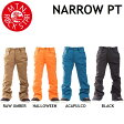 16-17 MOUNTAIN ROCK STAR マウンテンロックスター ウエア NARROW PANTS ナローパンツ 単色カラー