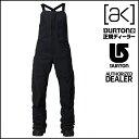 16-17 BURTON バートン ウエア AK GORE-TEX 3L KIMMY BIB PANT キミー ビブ パンツ TRUE BLACK レディース