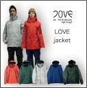16-17 LOVE ラブ ウエア LOVE JACKET ラブ ジャケット P01 プレイ