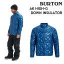 ショッピングバートン 19-20 BURTON MENS AK HIGH-G DOWN INSULATOR バートン メンズ インナー CLASSIC BLUE スノーボード 日本正規品