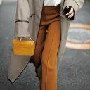 クロップド・サブリナパンツ M L LL 3L 裾センタースリットパンツ(M~3L) 30代 40代 50代 ミセス レディース ファッション ベルーナ Ranan ラナン 大人 秋 秋服 クロップドパンツ パンツ ボトムス プチプラ