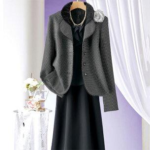 ジャケット ワンピース ベルーナ レディース ファッション