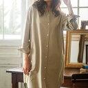 チュニック/5L/4L/3L裏フリースゆったりロング丈シャツ(3L〜5L) ベルーナ 40代 50代 60代 レディース ミセス ファッション