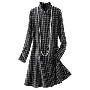 ジャカード デザイン チュニック ベルーナ レディース ファッション