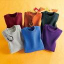 【6色組】復刻版ビッグタイプトレーナー6色組 ベルーナ【40代 50代 60代 レディース ミセス ファッション】【タイムセール0209】