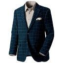 ジャケット/S/M/LL/L/3L上質フレンチウールツイードジャケット ベルーナ【40代 50代 60代 メンズ 紳士 男性 ファッション】【メンズアイテム】