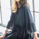 カットソー M〜L LL〜3L フレアーシルエットプルオーバー ベルーナ らなん ラナン Ranan 30代 40代 ファッション レディース 女性 夏