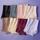 【8色組】50代からの快適ショーツガードル(M〜LL) ベルーナ ルフラン 40代 50代 60代 レディース ミセス ファッション
